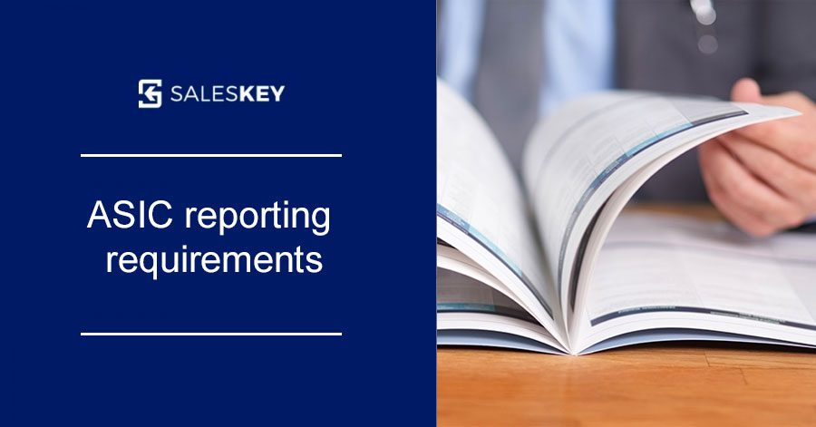 ASIC reporting requirements for ACL holders