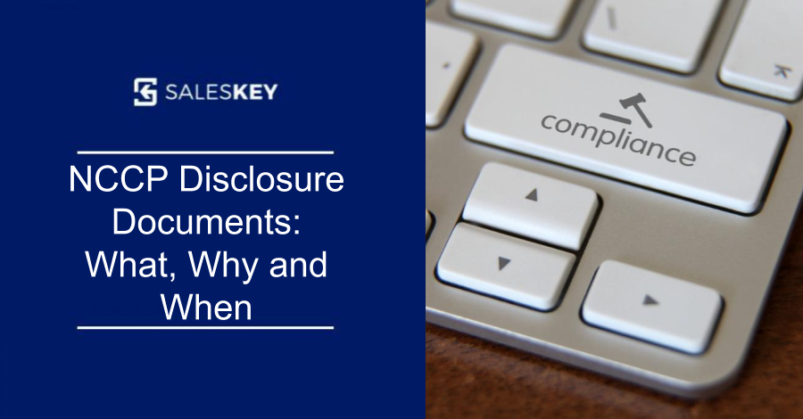 NCCP Disclosure Documents: What, Why and When